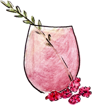 Pineapple Rosé Summer Cocktail