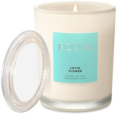 Ecoya metro lotus flower candle 270g