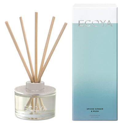 Ecoya reed spiced ginger and musk mini diffuser 50ml