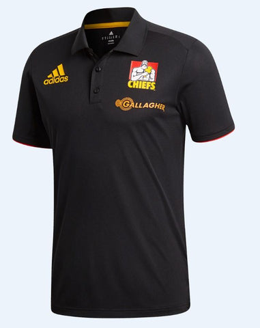 Cheifs Polo Black