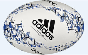 Rcr Rugby Ball - White/Blue Multi
