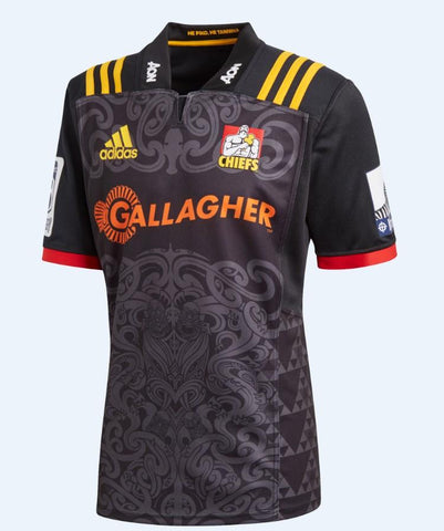 Chiefts Home Jersey 2018 - Black
