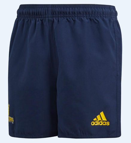 HIGHLANDERS HOME SUPPORTERS SHORTS - NAVY/BOLD GOLD