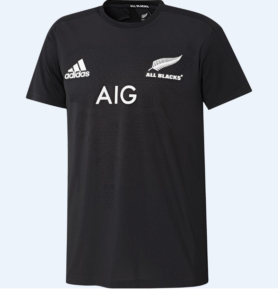 All Blacks Home Performance Tee - Black