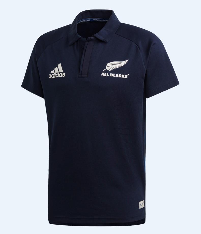 All Blacks Parley Polo Mens - Legend Ink