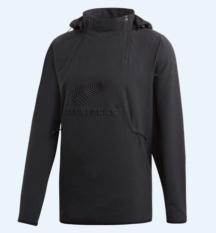 All Blacks All Weather Hooded Jacket Mens - Black