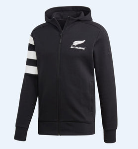 ALL BLACKS HOOD - BLACK/WHITE