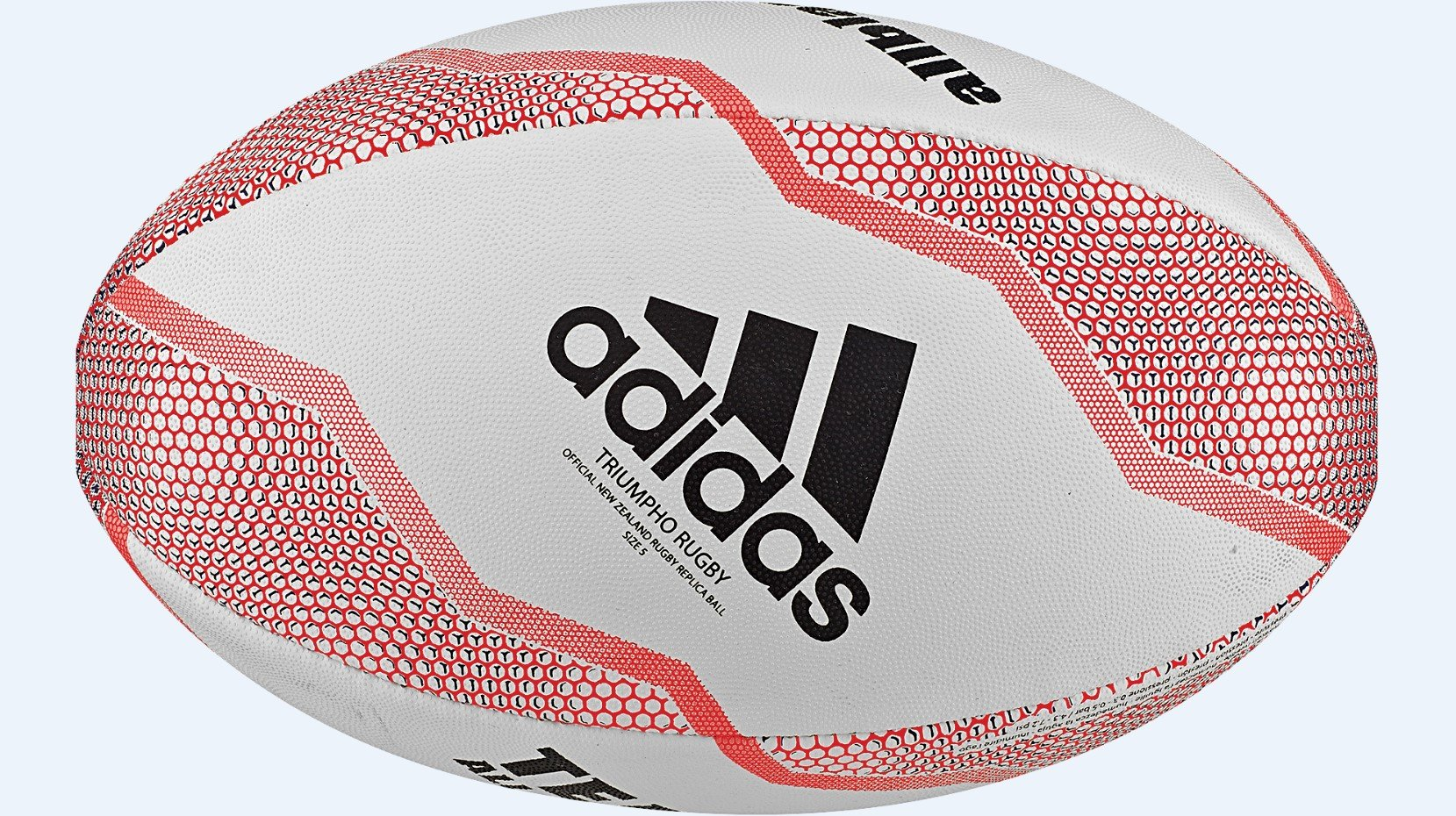All Blacks Rugby Ball - White/Multi
