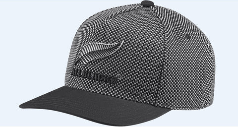 All Blacks Flat Cap - Black/Grey