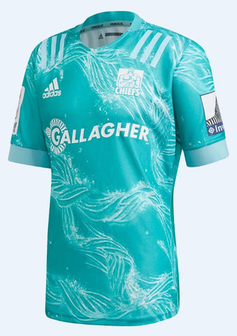 CHIEFS PRIMEBLUE AWAY JERSEY - Aqua/Blue Spirit