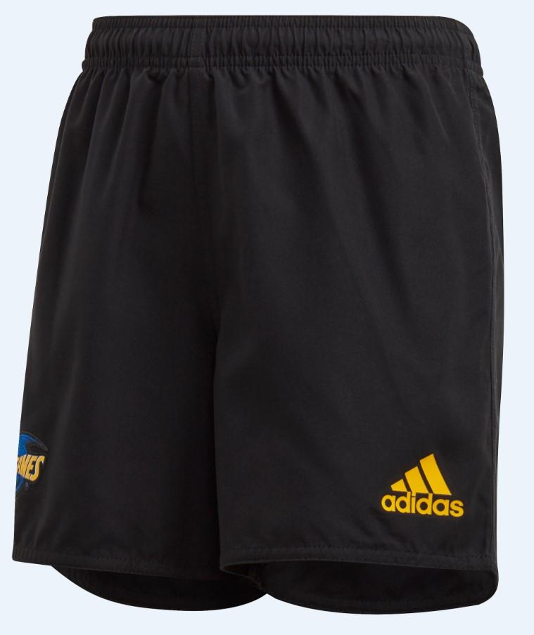 HURRICANES HOME SUPPORTERS SHORTS 7-8YO - BLACK