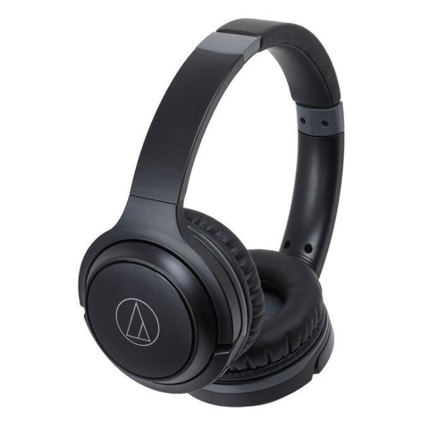 Audio Technica ATH-S200BT On-Ear Bluetooth Headphone - Black