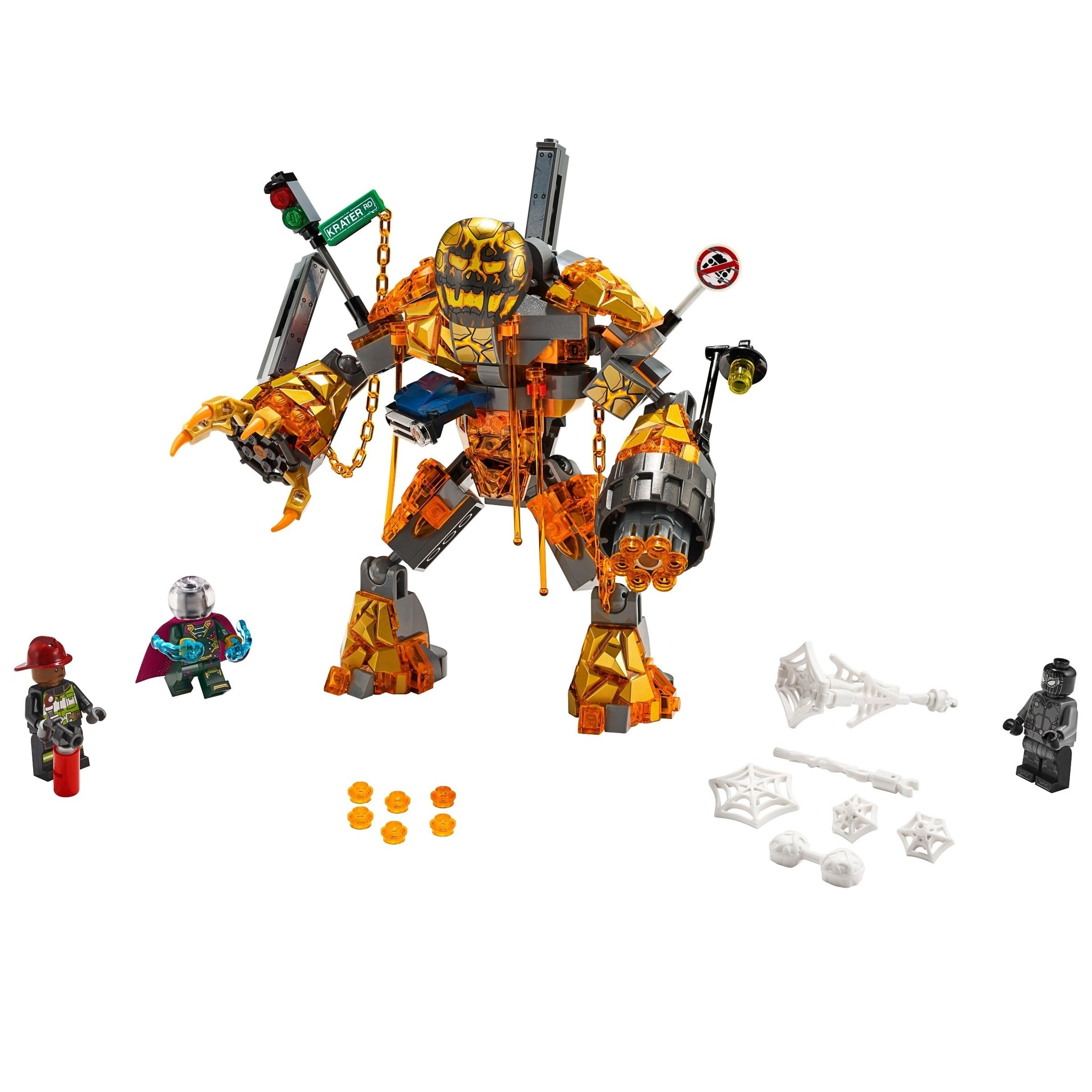 LEGO Spiderman Molten Man Battle