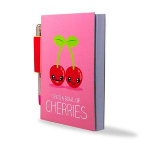 SKETCH AND SNIFF: SCENTED NOTEBOOK SET - CHERRIES