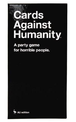 CARDS AGAINST HUMANITY GAME AU EDITION