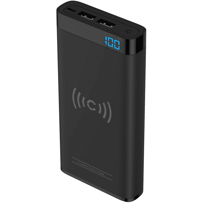 Cygnett ChargeUp Wireless 10000mAh - Black