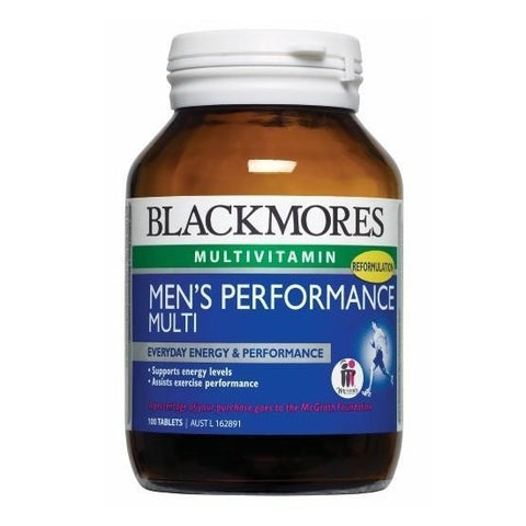 BLACKMORES MEN'S PERFORMANCE MULTI (100 TABS)