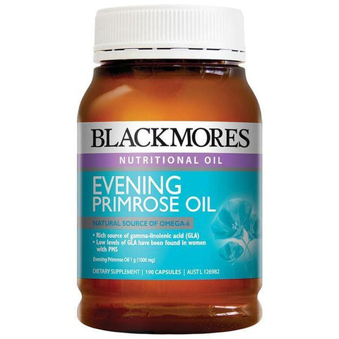 BLACKMORES EVENING PRIMROSE OIL (190 CAPS)