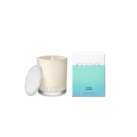 Ecoya madison lotus flower mini candle 80g