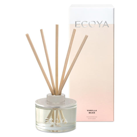 Ecoya reed vanilla bean mini diffuser 50ml