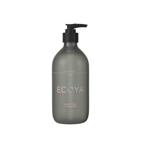 Ecoya hand & body wash sweet pea & jasmin 450ml