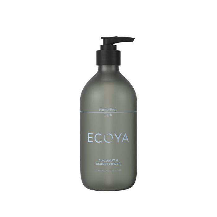 Ecoya hand & body wash coconut & elderflower 450ml