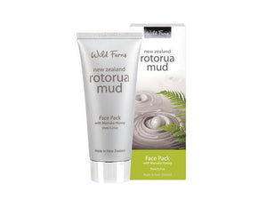 Wild Ferns Rotorua Mud Face Pack 95ml