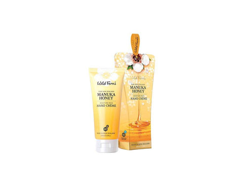 Wild Ferns Manukau Honey Moist Rich Hand Creme 100ml