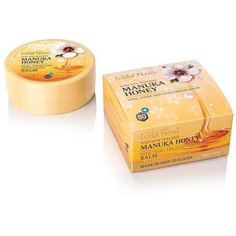 Wild Ferns Manukua Honey Here, There, Everywhere Balm 50g