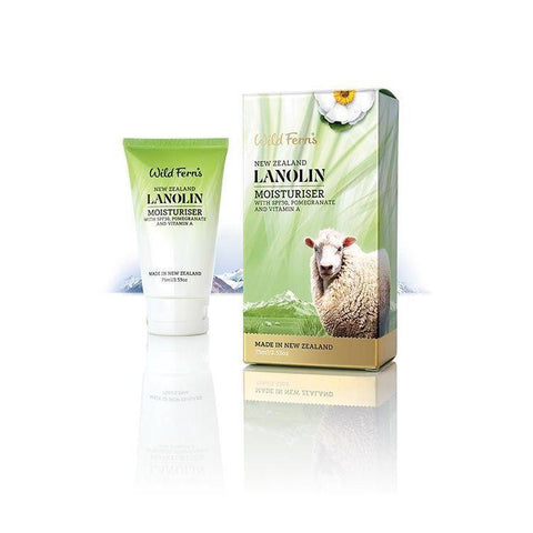 Wild Ferns Lanolin Moisturiser 75ml