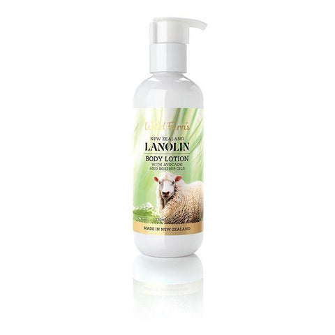 Wild Ferns Lanolin Body Lotion 230ml
