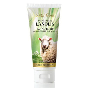 Wild Ferns Lanolin Facial Scrub 100ml