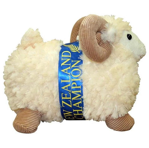 28CM SHEEP W/CORD HORNS