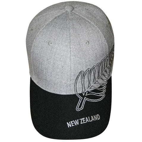 CAP BIG FERN GREY MARL