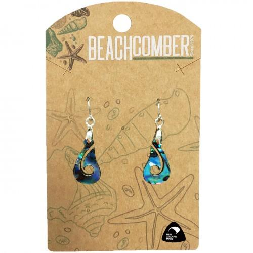 Paua Earrings  Fishhook