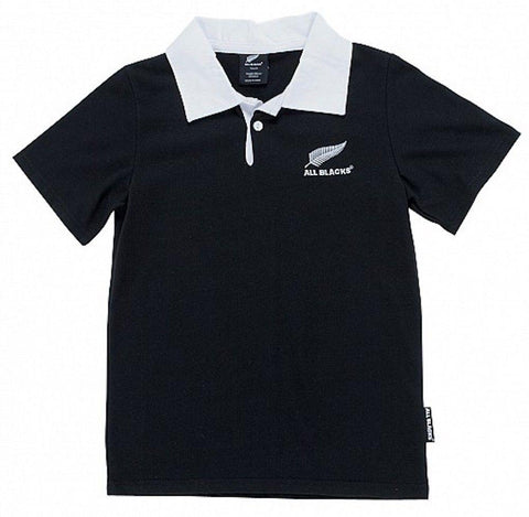 NEW ZEALAND ALL BLACKS RUGBY JERSEY SHORT SLEEVE SHIRT - SIZE 0