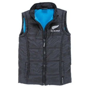 NEW ZEALAND ALL BLACKS PUFFER VEST - CHILDS SIZE 2
