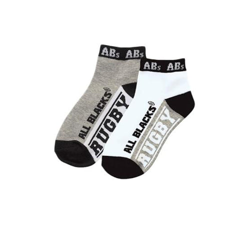 NEW ZEALAND ALL BLACKS CHILDREN'S SPORTS SOCKS SIZE 2-4