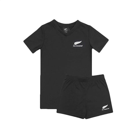 NEW ZEALAND ALL BLACKS 2 PIECE TRAINING SET - SIZE 6