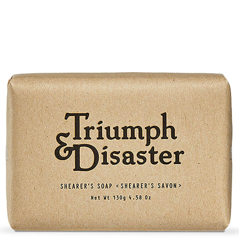 Triumph & disaster shearer's soap bar 130g