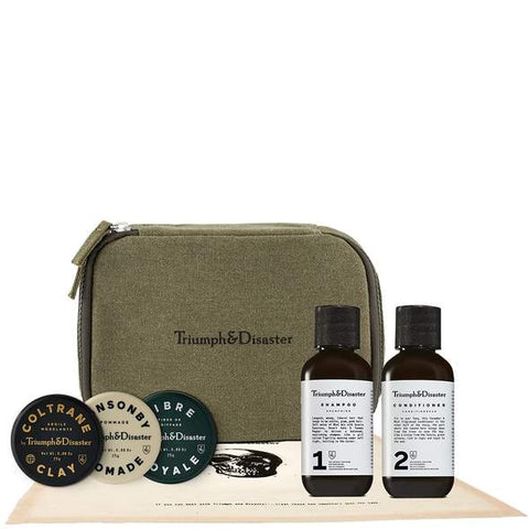Triumph & disaster road less travelled travel hair kit