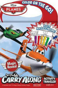 DISNEY PLANES IMAGINE INK CARRY ALONG ACTIVITY TRAVELLER