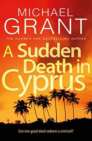 A SUDDEN DEATH IN CYPRUS (DAVID MITRE THRILLERS)