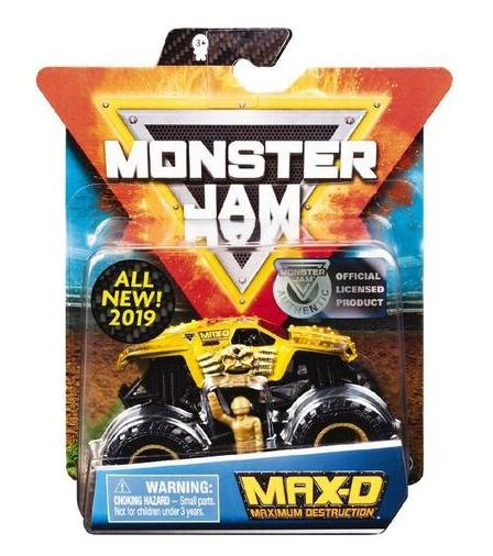 MONSTER JAM 1:64 SINGLE PACK ASSORTED