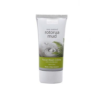 ROTORUA MUD FACIAL WASH CREME WITH LIME BLOSSOM