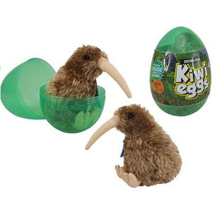 BROWN KIWI WITH SOUND IN EGG