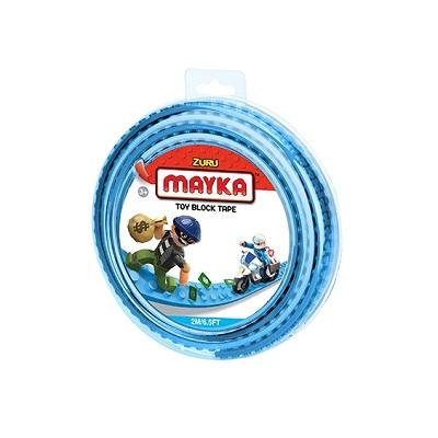 ZURU MAYKA TAPE 2 STUD ROLL 2M - LIGHT BLUE