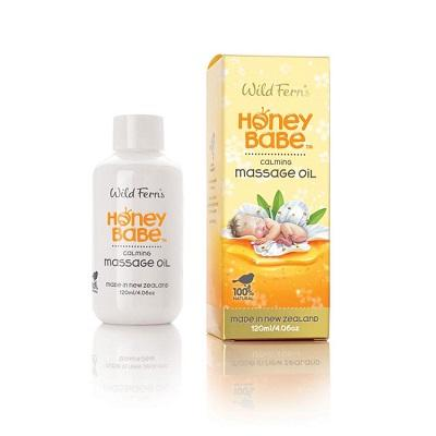 WILD FERNS HONEY BABE CALMING MASSAGE OIL