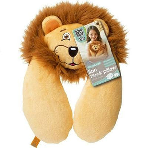 GO TRAVEL KIDS LION NECK PILLOW TRAVEL LUGGAGE