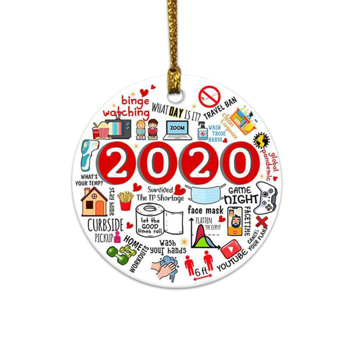 🌟2020 🌟 Annual Events Christmas Ornament 🎄